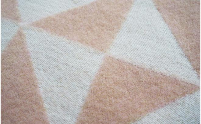 frazada lana twist a twill (rosa claro)