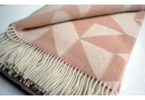 wool blanket twist a twill (powder pink)