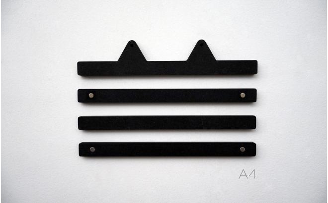 colgadores de laminas Infantiles con orejas animales