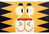 Lámina Póster infantil de madera minipic tigre