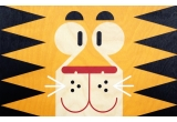 wooden poster print minipic tiger