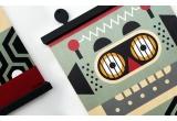 colgador laminas de madera Earwigo Robot