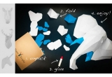 trophées muraux origami animaux