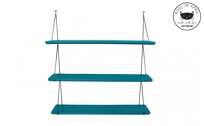 Babou shelves petrol blue by Rose in April