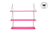Babou shelves fluo pink by Rose in April