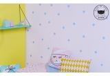 estanterías de pared para habitación infantil Rose in April