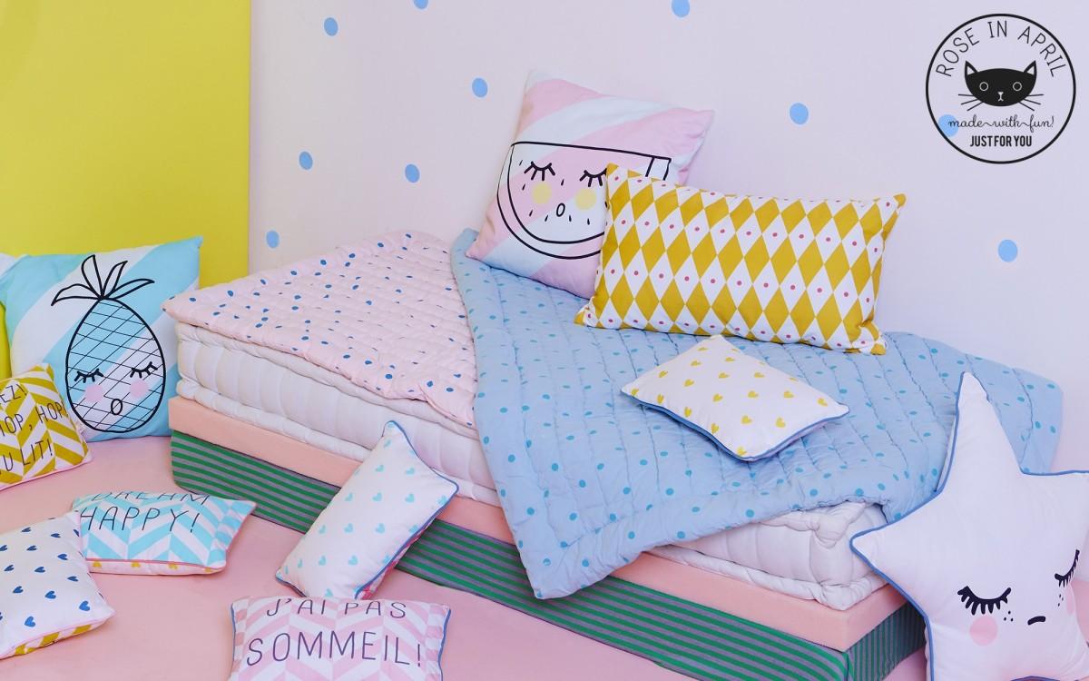 touf touf pillow (blue)