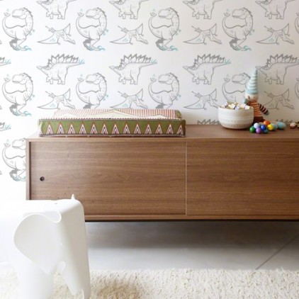 kids room wallpaper dinosaurs, boy room wall mural, theme jurassic world