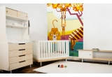 monkeys, lion, zebra Savanna Jungle Kids Wall Murals