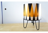 kids lamp Minilum black Tiger geometric pattern