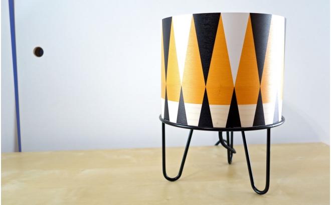 lámpara infantil Minilum motivo geometrico Tigre negro