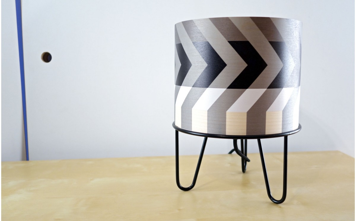 lampes enfant minilum motifs g om triques lampe design chambres b b s et enfants abat jour. Black Bedroom Furniture Sets. Home Design Ideas