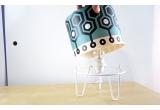 lampe enfant Minilum motif géométrique Robot