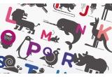 Póster Cartel Lámina Arte Infantil Bebé ABC Alfabeto