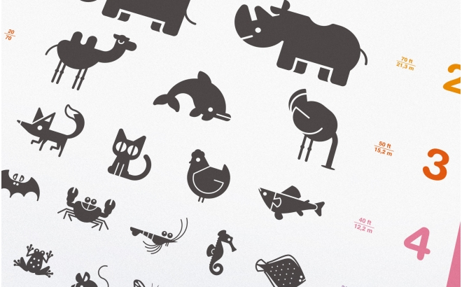 animal Baby Poster Print
