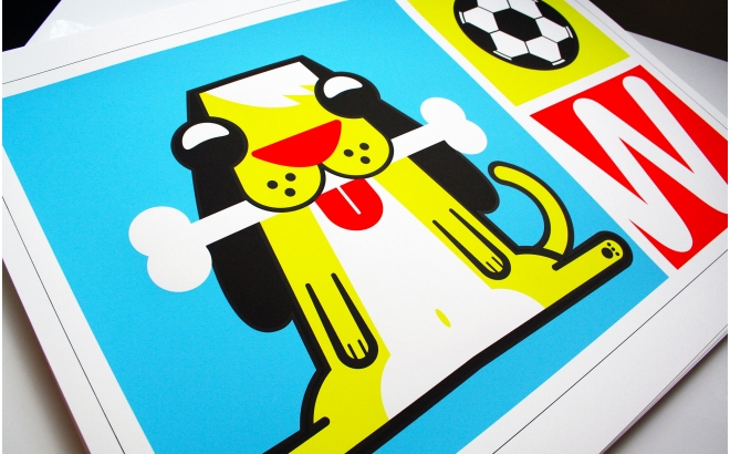 dog Baby Posters Prints