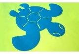 felt tortoise rug for baby nursery