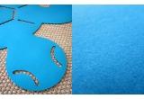 tapis en feutre tortue pour chambre enfant