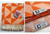 couverture laine twist a twill (orange)