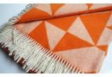 frazada lana twist a twill (naranja)