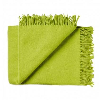 green yellow High Quality Scandinavian Merino wool kids Blanket