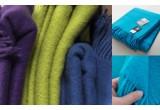 Silkeborg merino wool toddler blanket