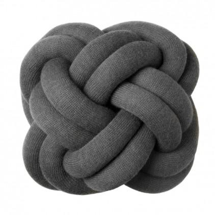 coussin enfant knot gris par Design House Stockholm