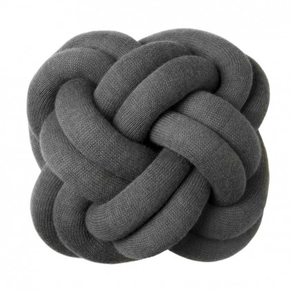 KNOT kids throw CUSHION Grey by Design House Stockholm