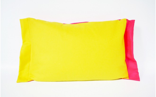 coussin circus fee (rose)
