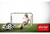 Play Mat Toys Organizer and Kids Toy Storage Bag Play and Go football soccer