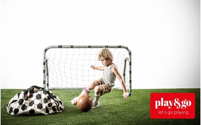 Saco Alfombra de Almacenamiento Play and Go para Habitaciones Infantiles futbol