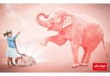 Tapis et Sac de Rangement Enfants Play & Go Elephant Rose