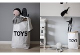 paper storage bag toys for kids room