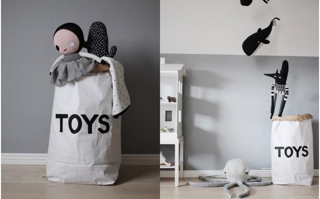 bolsa de almacenaje toys para habitación infantil
