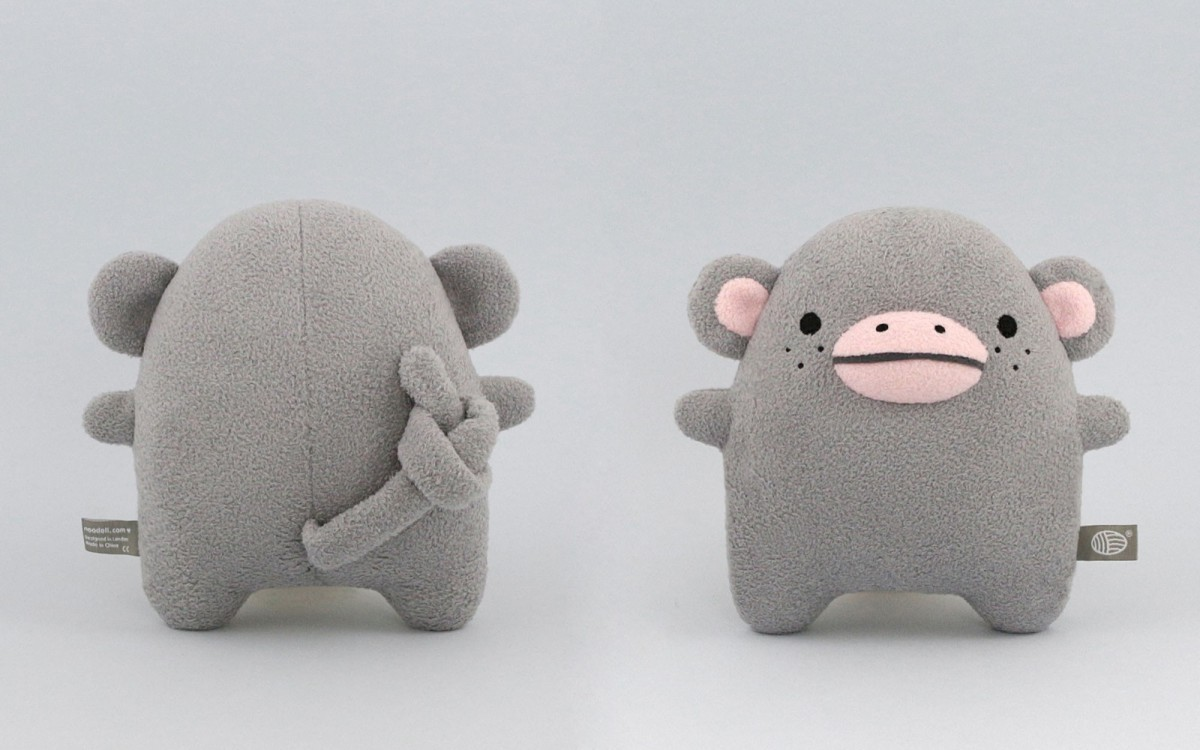 muñeco peluche Ricecoco gris