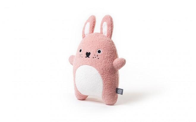 muñeco felpa para bebé y niños Ricecarrot rosa por Noodoll
