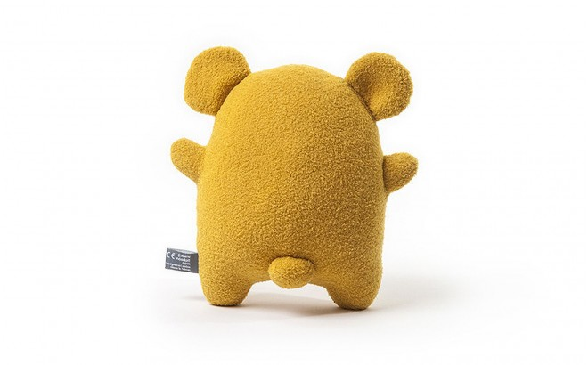 plush toy for babies and kids Ricecracker yellow by Noodoll
