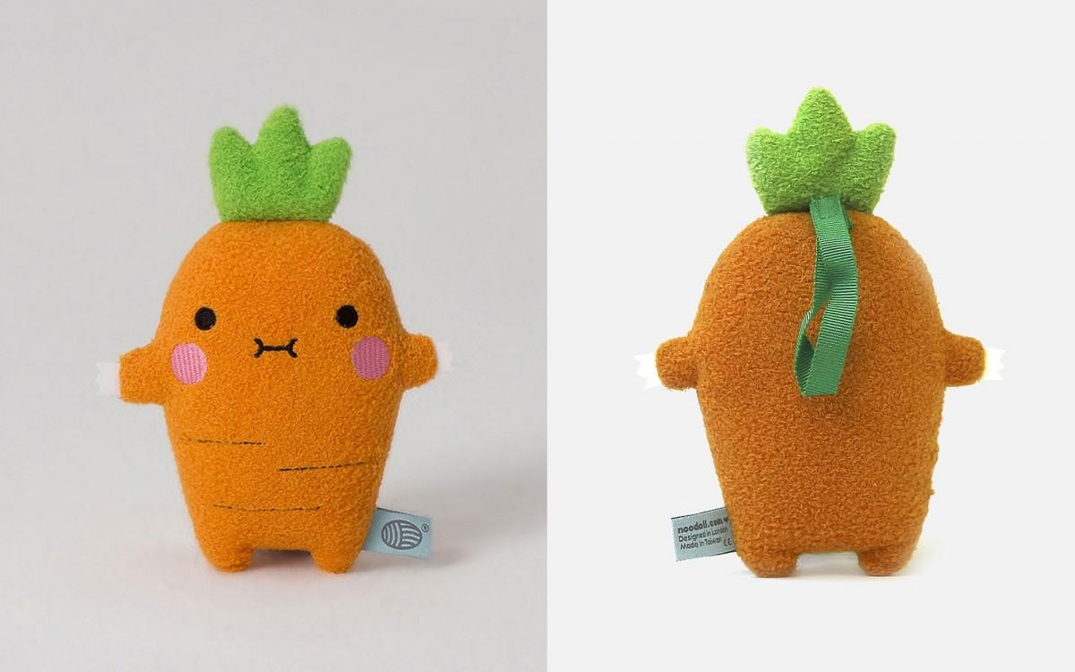 muñeco zanahoria Ricecrunch