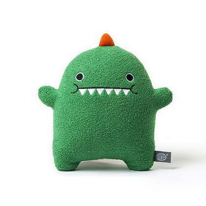 plush toy for babies and kids Dinosaur green by Noodoll
