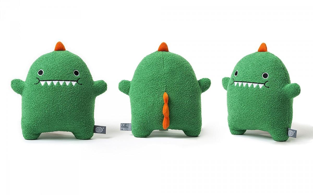 plush toy Dinosaur green