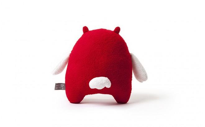 muñeco felpa para bebé y niños Mi rojo por Noodoll