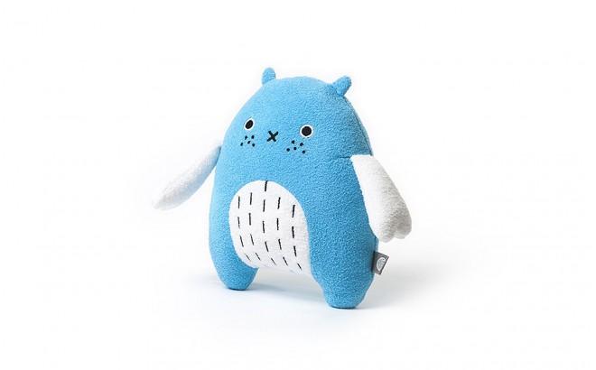 muñeco felpa para bebé y niños Re azul por Noodoll