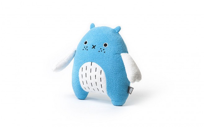 plush toy for babies and kids Re blue by Noodoll