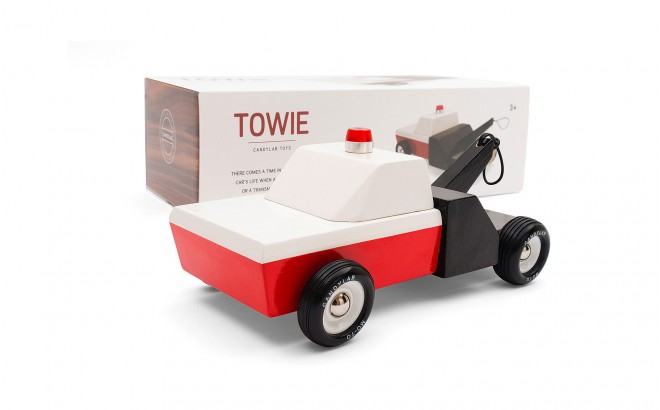 juguete grua infantil para niños Towie por CandyLabToys