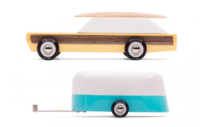 jouet voiture camping-car Woodie et Camper de CandyLabToys