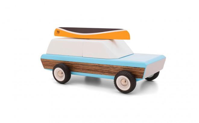 juguete jeep de madera infantil para niños Pioneer por CandyLabToys