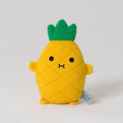 peluche doudou bébé et enfants Rice Ananas jaune par Noodoll