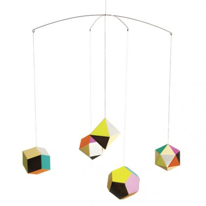 Themis design baby mobile Artecnica for kids room decoration