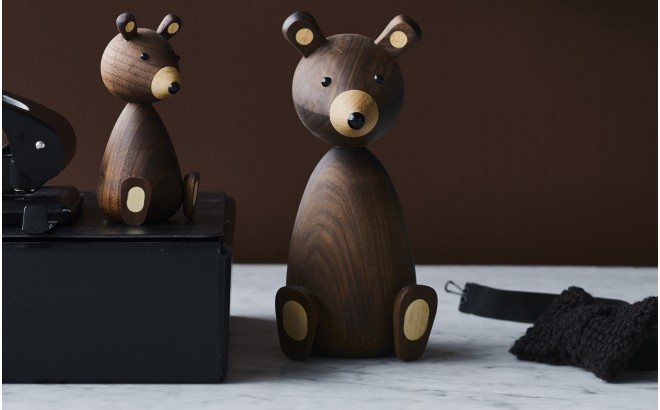 scandinavian design decorative bear
