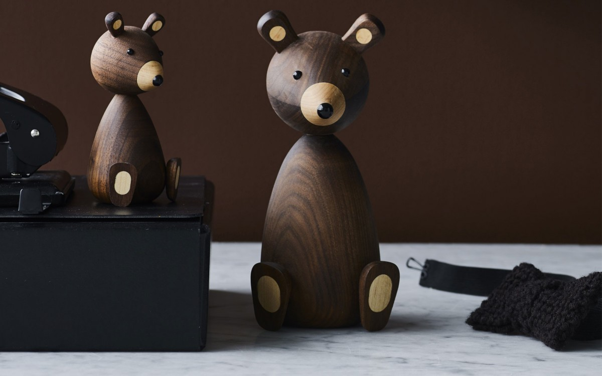wooden bear Lucie Kaas